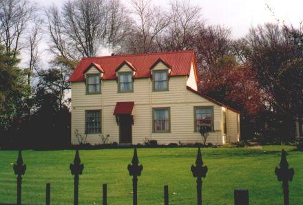 Old Schoolmaster's House when painting was completed in 2005 (05-063.jpg)