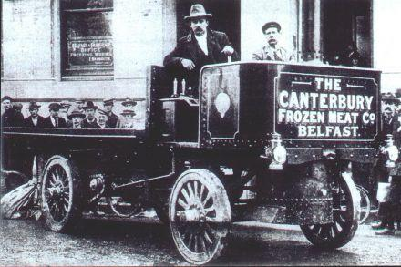 Early steam lorry used by the CFM Belfast around 1903 (04-020a.jpg)
